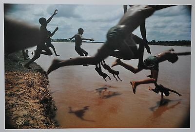 Bruno Barbey Ltd. Ed. Magnum Photo Poster 70x50 Amazonien 1966 Amazonia Amazonie