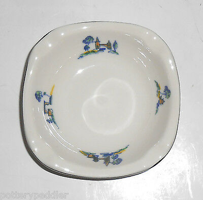 Syracuse China Cloisters Resort Restaurant Deep Ashtray Mint