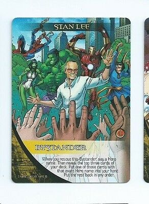 2015 Marvel 3-D legendary Stan Lee bystander x3 you get 3 of them