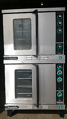Duke Franklin 613 Double Stack Convection Oven in Natural Gas