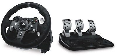 Logitech G920 Driving Force Racing Wheel for PC and Xbox One[941-000126]