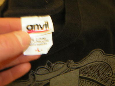 Ac/dc T Shirt 2008-2009 Black Ice Tour Shirt Angus Young Malcom Young Phil Rudd