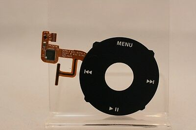 Black Clickwheel for Apple iPod Video Classic 5th 5.5 A1136 Click Wheel Buttons