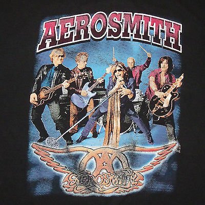 Aerosmith Just Push Play Concert Tour 2001 Tour T-Shirt XL w/ Fuel Co-headliners