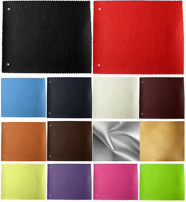 Faux Leather Vinyl Upholstery Leatherette Fabric Material 1 Metre To 5 Metre