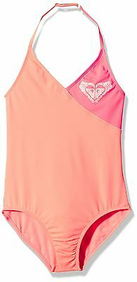 (TG. 12 anni) Roxy One Piece G  Mge0-nuoto Bambina    Pink (Sunkissed Coral) 12