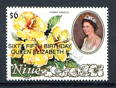 Niue 1991 65th Birthday of the Queen  MNH