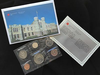 1987 Royal Canadian Mint Proof Like Set of 6 Uncirculated Coins
