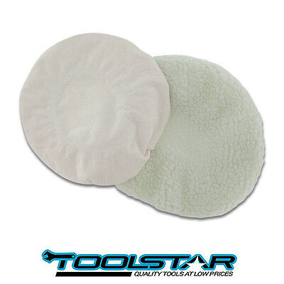 Car Polishing Bonnets For Electric Polisher - Buffing Synthetic And Textile