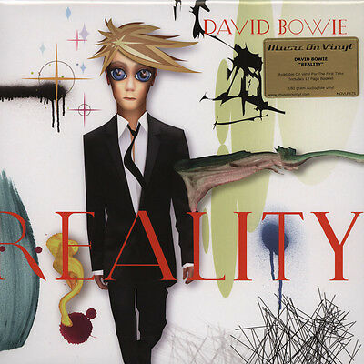 David Bowie - Reality Black Vinyl Edition (LP - 2014 - EU - Original)