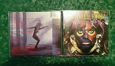 Eat Em Smile=Van Halen David Lee Roth,Steve Vai Signed CD - dvd lp;Billy Sheehan