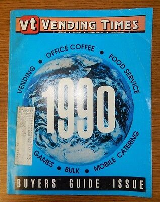 VT Vending Times 1990 Buyers Guide Issue