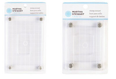 Martha Stewart Stamp Mount Block Medium OR Small SELECT YOUR DESIGN!