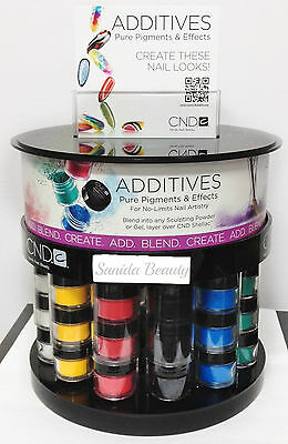 CND Additives- Effect & Pigment Effect Nail Art for Shellac/ Brisa Gel/ Powder