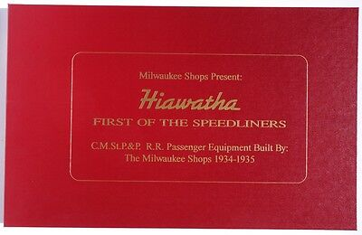OOP - Hiawatha FIRST OF THE SPEEDLINERS from Milwaukee Shops