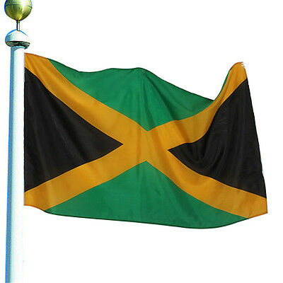 Jamaican Country State Flag 3x5 Feet Polyester Jamaica National Banner Large QDK