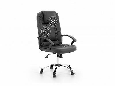 Office chair desk chair executive PU leather reclining massage