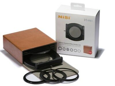 NiSi 100mm System V5 Pro Filter Kit- 67 72 77 Adaptor Ring+82mm Holder