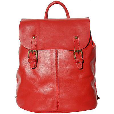 Backpack Purses Bag Italian Genuine Leather Hand made in Italy Florence  3010 lr 49196afd88