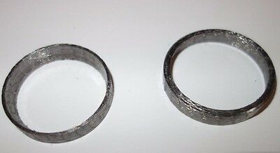 Harley Davidson Twin Power Exhaust Seal Gasket Tapered 2 Seals H-D#65324-83Ax2