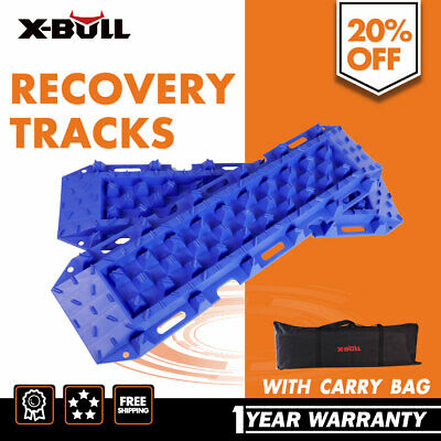 Pair Sand Tracks Set Recovery Mud Snow Grass 4WD 4x4 ATV Tyre Accessory Offroad