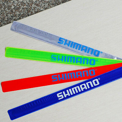 Riding Bike 2 Pc Bicycle Cool Reflective Trouser Pants Clips Wrist Strap Bands