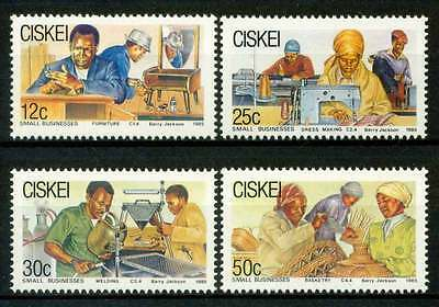 Ciskei 1985 Small Businesses MNH
