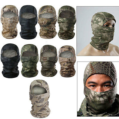 Balaclava Mask Motorbike Thermal Ski Face Under Helmet Neck Warmer Hunting Cape