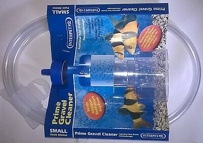 Interpet Small Prime Aquarium Gravel Cleaner 0755349017126
