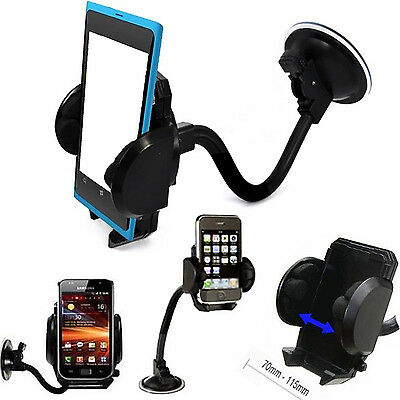 Car,Trucks Windscreen Suction Mount +air vent Holder Cradle Stand for phones