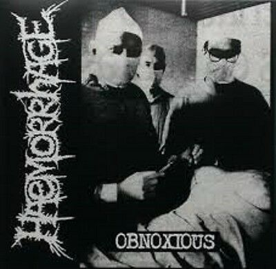 HAEMORRHAGE - Obnoxious 10´´LP limi.200 Carcass Exhumed Necrony Pungent Stench