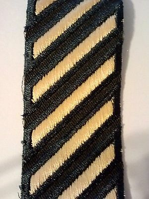 U.S. Army Male Service Stripes Hash Marks Gold on Green  (5 Piece Set)