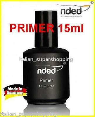 Primer 15Ml Ricostruzione Unghie Gel Smalto Mad Germany Semipermanente Kit Nded