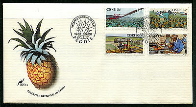 Ciskei 1982 Pineapple Industry FDC