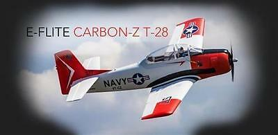 Summer Special ! E-flite Carbon-Z T-28 BNF Basic with AS3X Technology / Warbird-