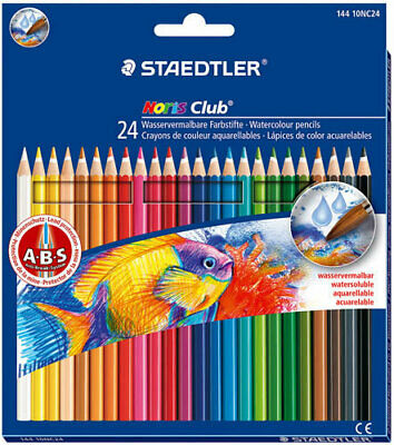 Staedtler Noris Club Watercolour Pencils - 24 Pack