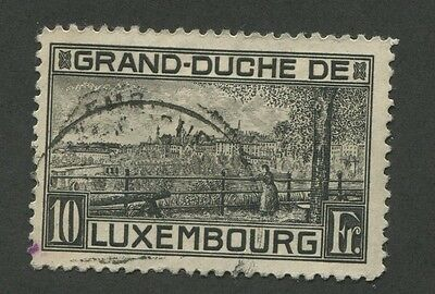Luxembourg #152 Used Vf