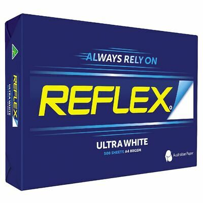 Reflex A4 Ultra White Copy Paper 80gsm 500 Sheets - 1 Ream