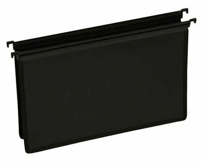 Cumberland Executive Heavy Duty Suspension File Foolscap Black - 5 Pack