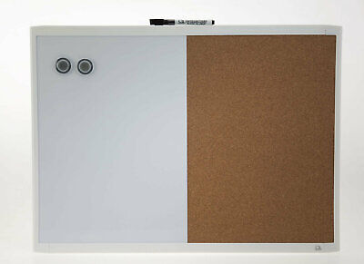 Quartet Basics Combination Whiteboard - Cork Board 430 x 580mm