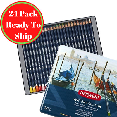 Derwent R32883 Watercolour Pencils 24 Tin