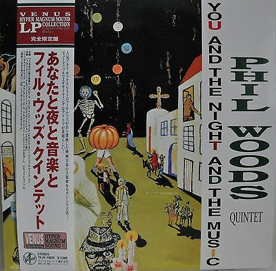 Phil Woods You And The Night And The Music Japan LP 1997 Venus TKJV-19024 Obi