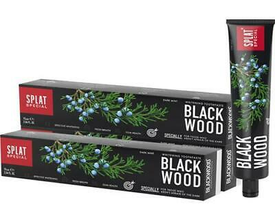 3x SPLAT Special Blackwood Whitening Zahnpasta (3x 75 ml)