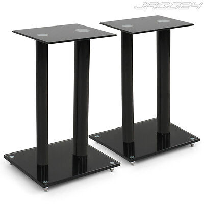 Speaker Stands Set Floor Standing Sound Isolating Portable HIFI Home Cinema Pair