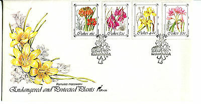 Ciskei 1988 Protected Flowers FDC