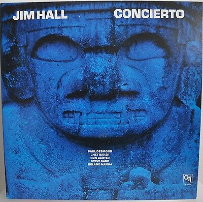 Jim Hall Concierto Japan gatefold LP 1975 King GP-3030 Insert CTI