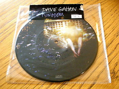 """Dave Gahan - Kingdom  7"""" Picture Disc (Sealed)"""