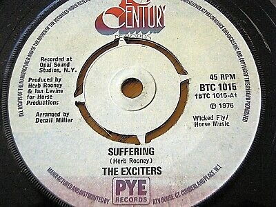 "The Exciters - Suffering  7"" Vinyl"