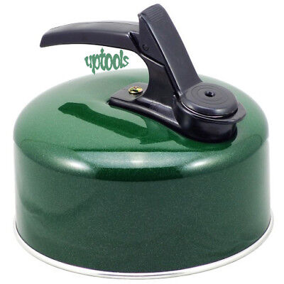 1 Litre 1L Green Pendeford Whistling Kettle - Caravan Camping Fishing Allotment