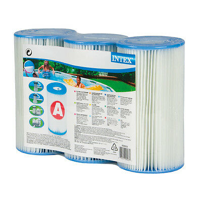 Cartuccia filtro Intex media A per piscina 3 pz